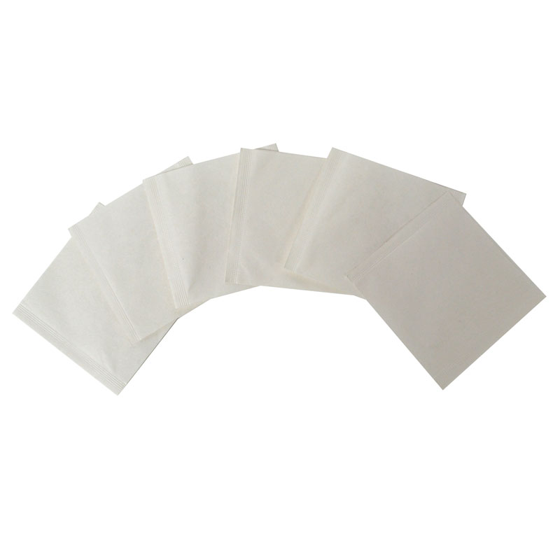 "Outer tea envelopes white ""S"""