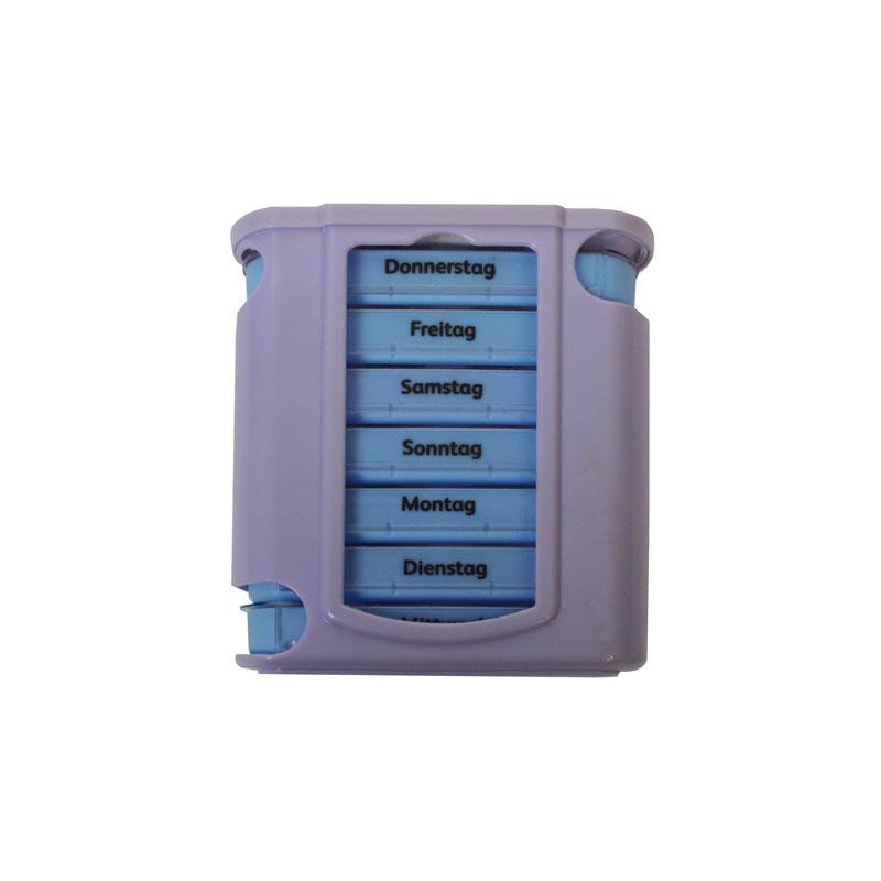 7-Days luxury pillbox - morning / noon / evening / night