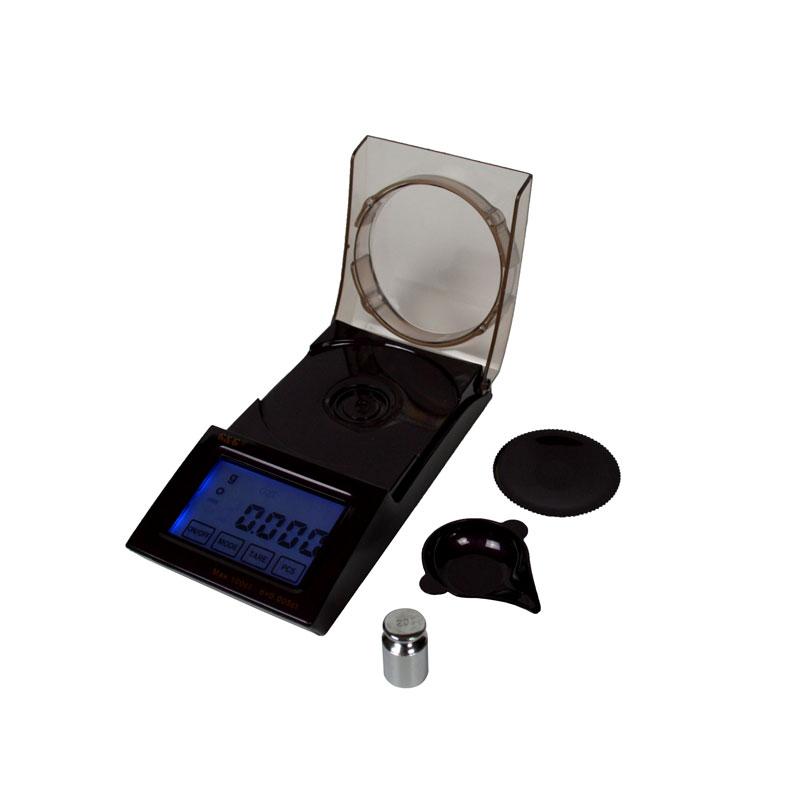 Digitale Qualitätsfeinwaage FC-20 / 0,001 Gr. mit beleuchtetem Display