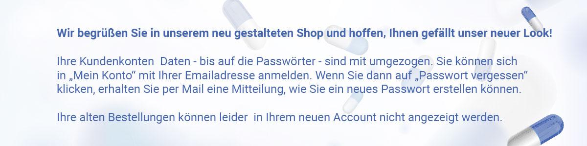 Neues Passwort